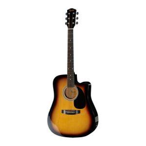 Chitara electro-acustica Fender Squier SA-105 CE Sunburst