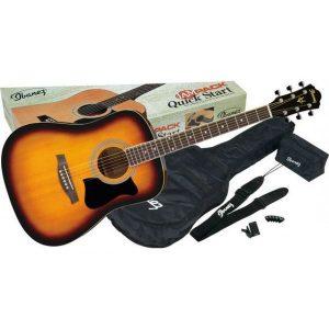 Set chitara acustica Ibanez V50NJP-VS