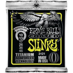 Corzi chitara electrica Ernie Ball Coated Regular Slinky 3121