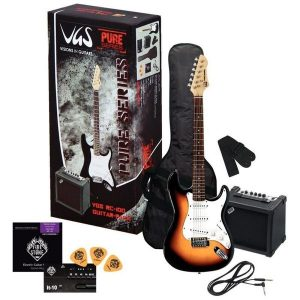 Set chitara electrica VGS Gewa Pure Player Pack BK
