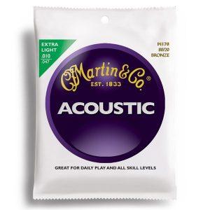 Corzi chitara acustica Martin
