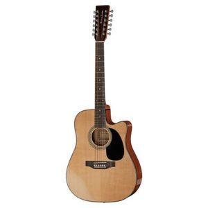 Chitara electro-acustica Harley Benton D200 CE NT 12 corzi