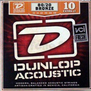 Set corzi chitara acustica Dunlop DAB 10-48