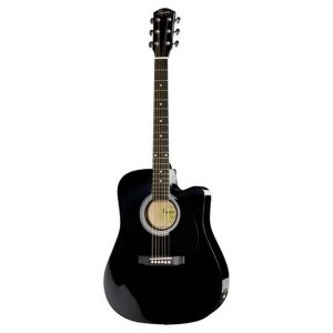 Chitara electro-acustica Fender SA-105CE BK