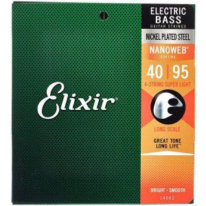 Corzi Elixir Nanoweb Super Light BassGuitar