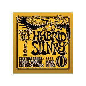 Corzi chitara electrica Ernie Ball Hybrid Slinky 2222