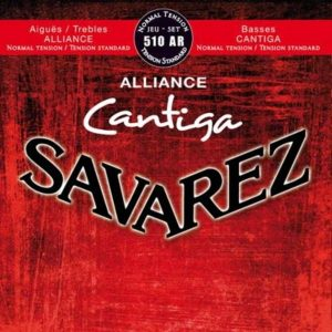 Corzi chitara clasica Savarez 510AR Alliance Cantiga
