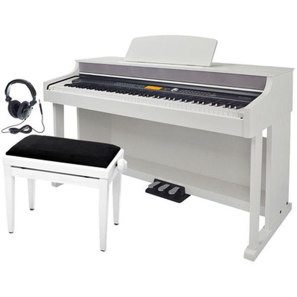 Set pian digital Thomann DP-95 WH