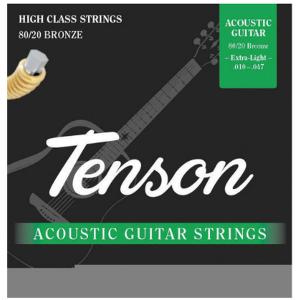 Corzi chitara acustica Tenson
