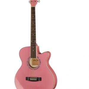Chitara Electro Acustica Harley Benton EAX-10 Pinky