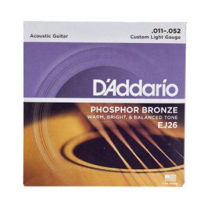Corzi chitara acustica Daddario EJ26