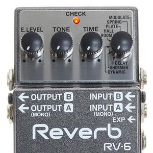 Pedala Reverb Boss RV-6