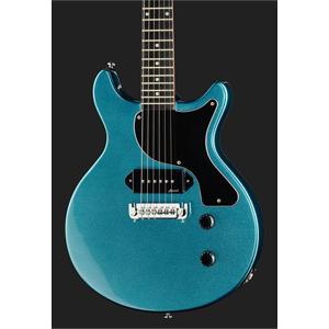 Harley Benton DC-Junior LTD Pelham Blue 2